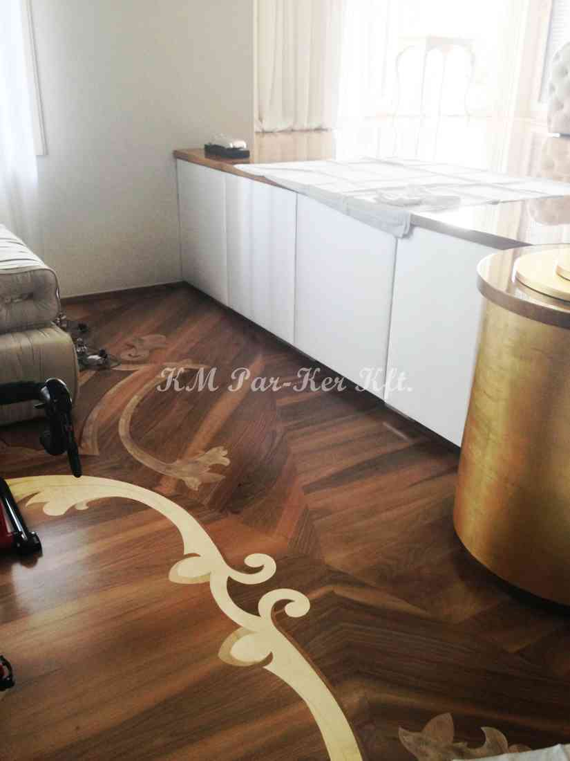 wood inlay floor, home 04