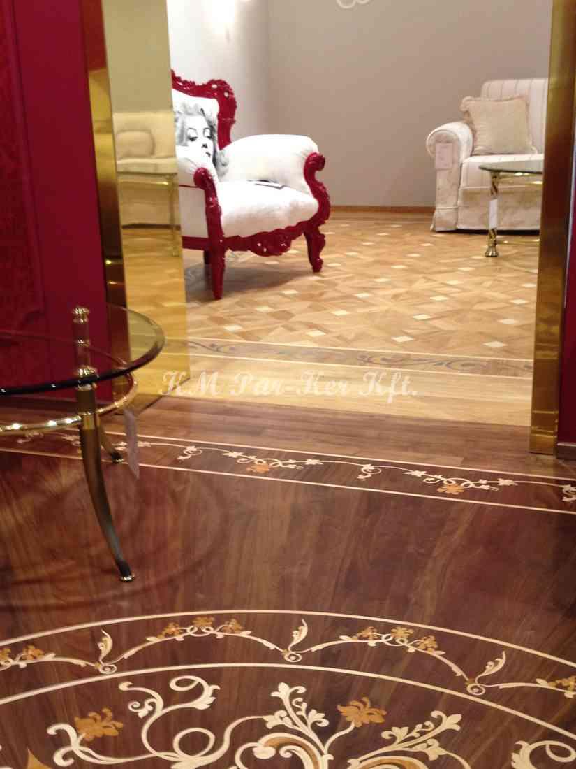 wood inlay floor, home 06