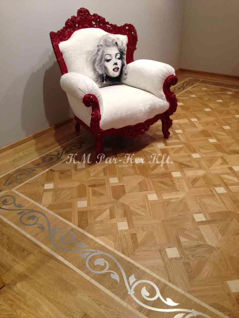 wood inlay floor, home 07