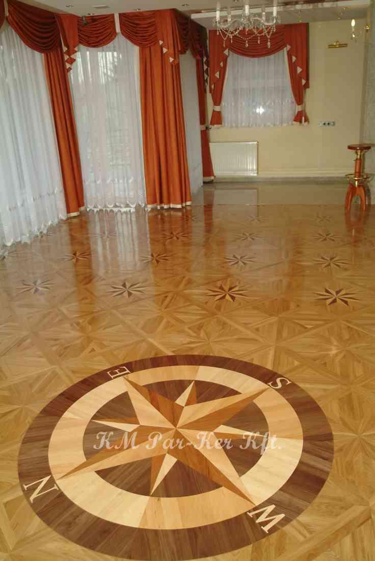 wood inlay floor, home 09