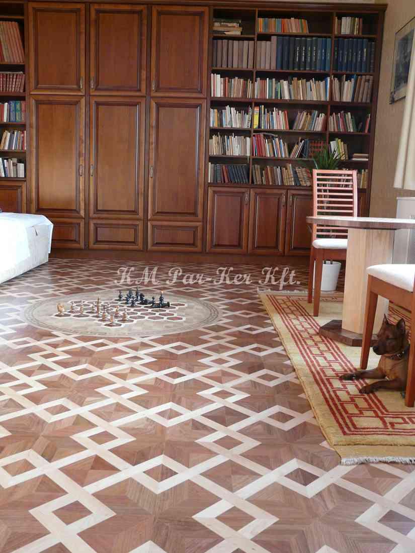 wood inlay floor, home 13