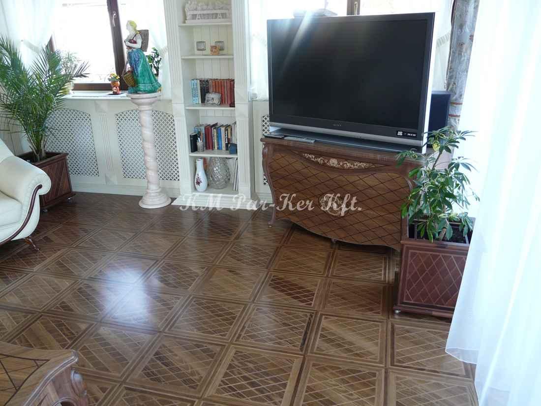 wood inlay floor, home 15