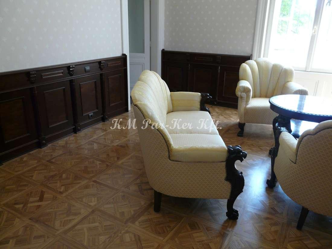 wood inlay floor, home 17