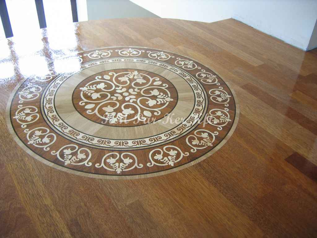 wood inlay floor medallion 12, Daniel