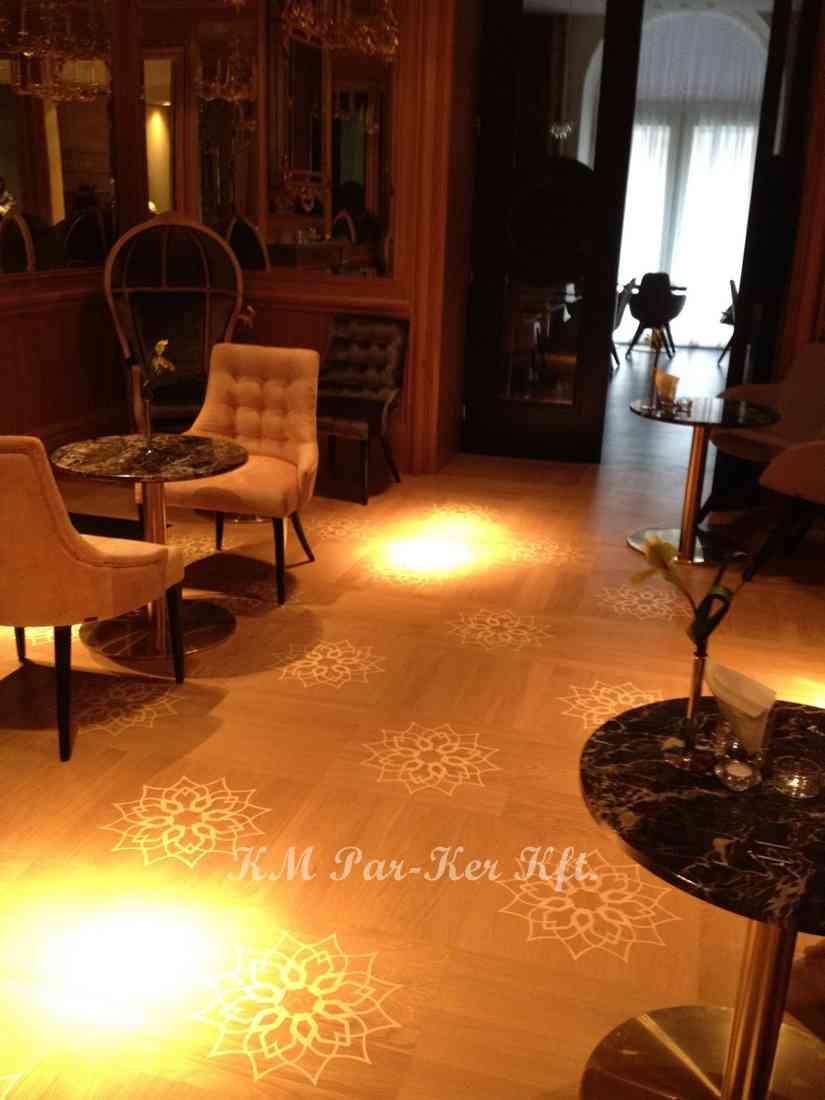 wood inlay floor 03, Wien Hotel