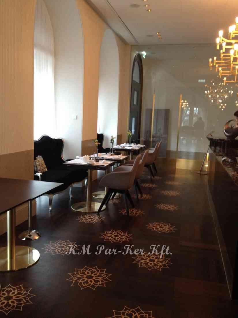 wood inlay floor 04, Wien Hotel