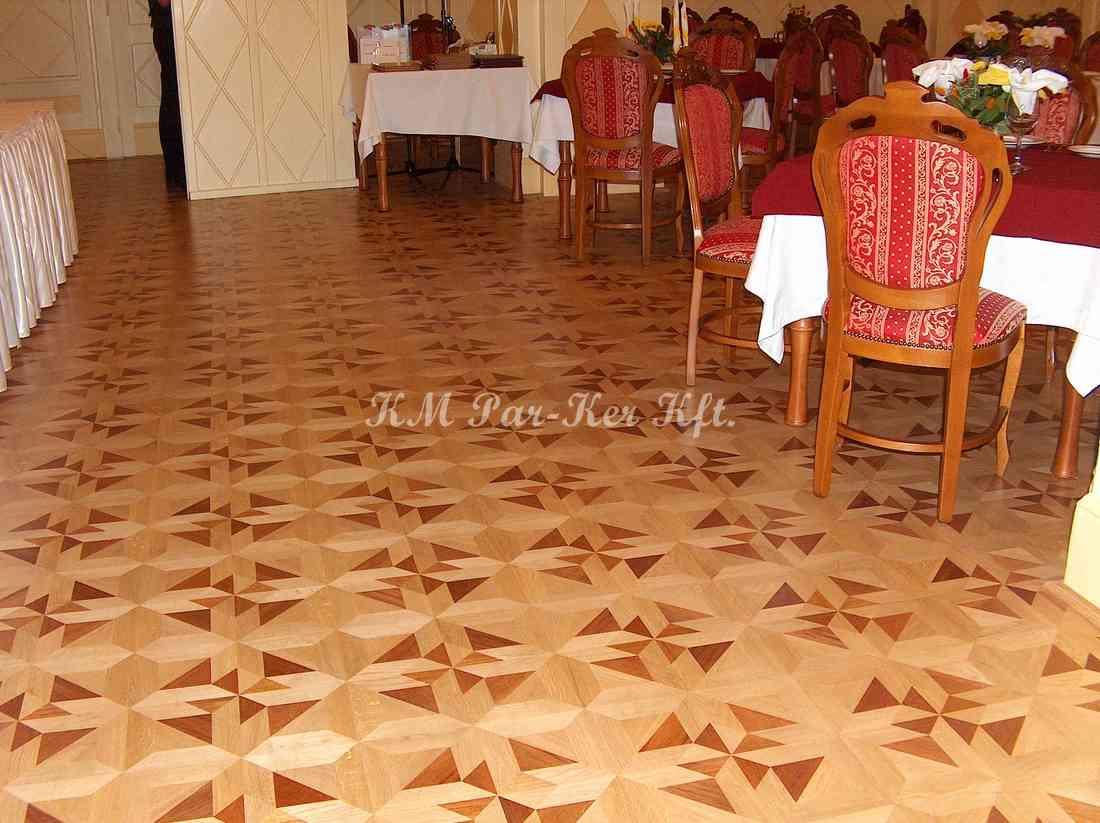 wood inlay floor 05, Eger Park Hotel
