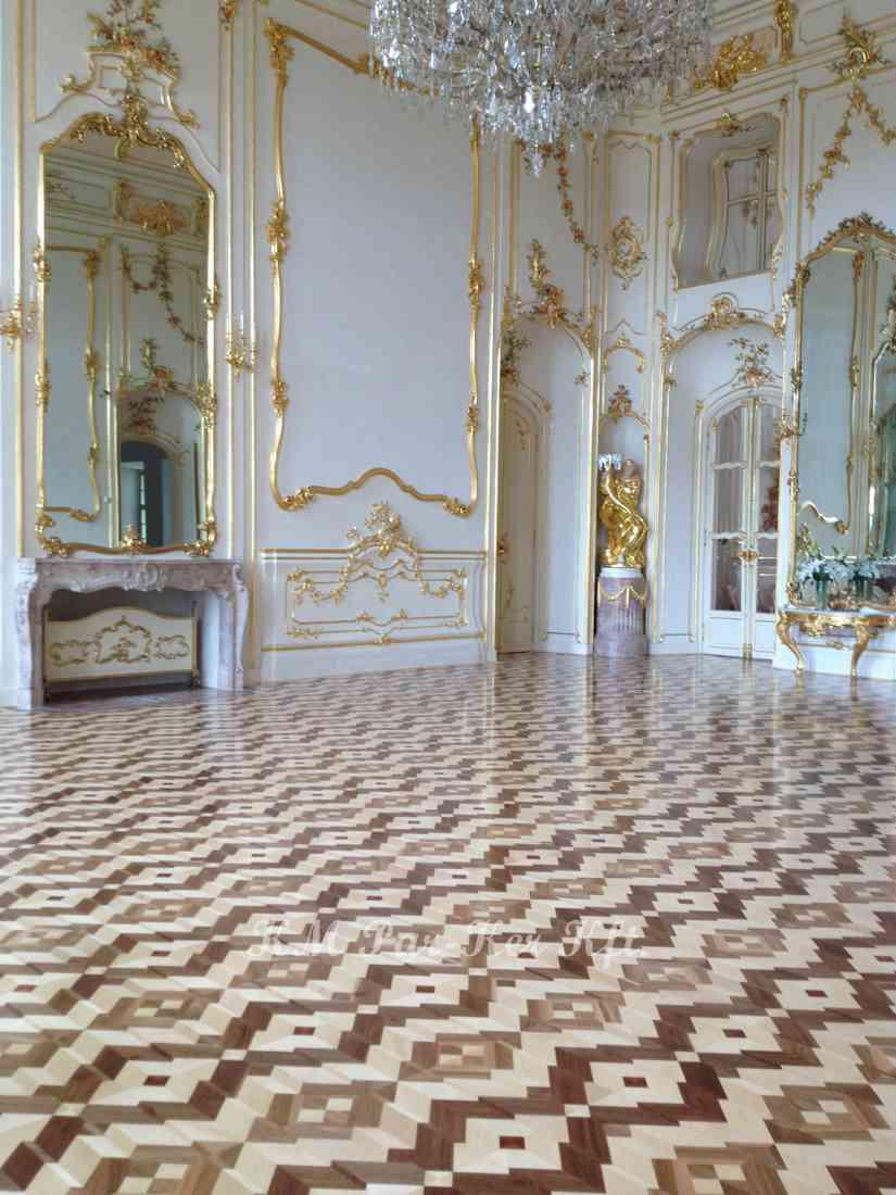 wood inlay floor 07, Fertőd Esterhazy Castle
