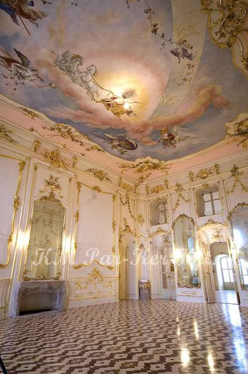 wood inlay floor 08, Fertőd Esterhazy Castle