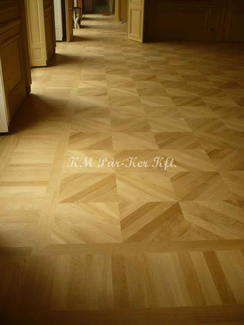 wood inlay floor 15, Emir of Qatar Palace, Paris
