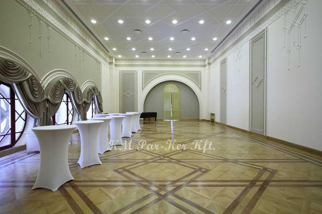 wood inlay floor 19, Budapest, Vigadó