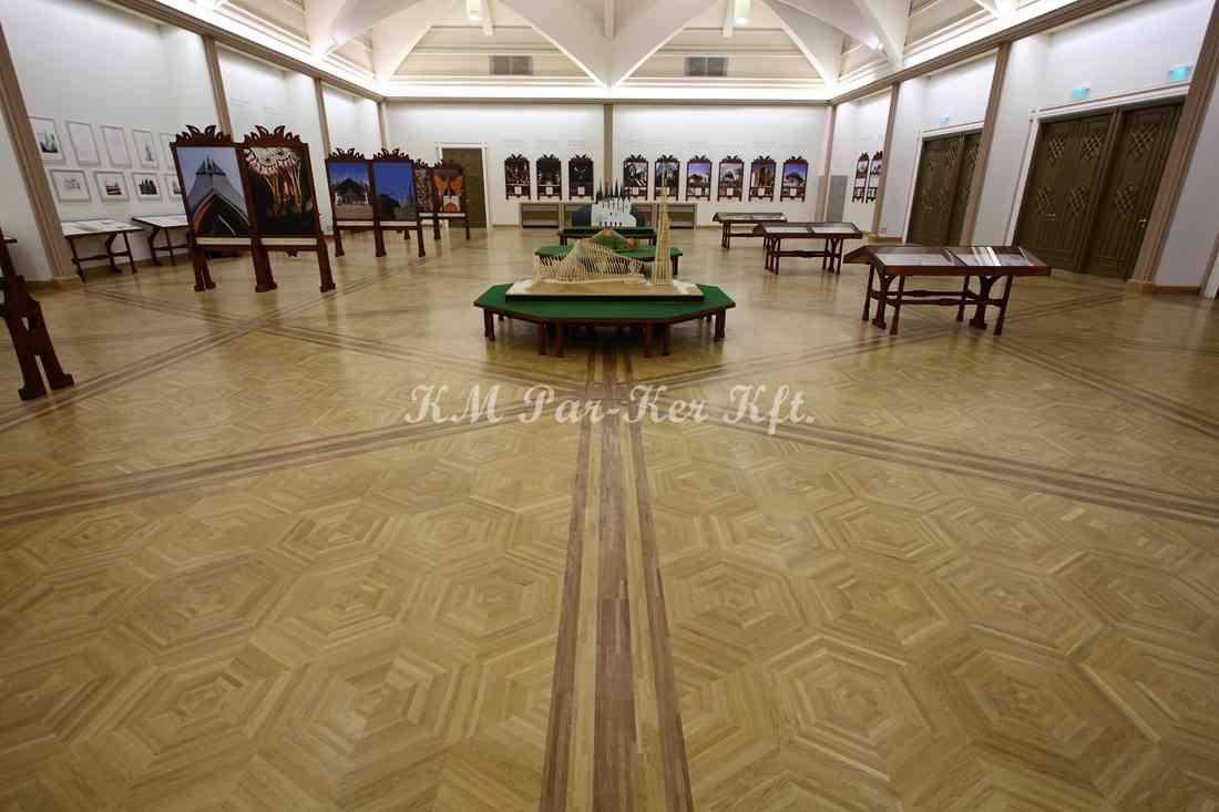 wood inlay floor 21, Budapest, Vigadó