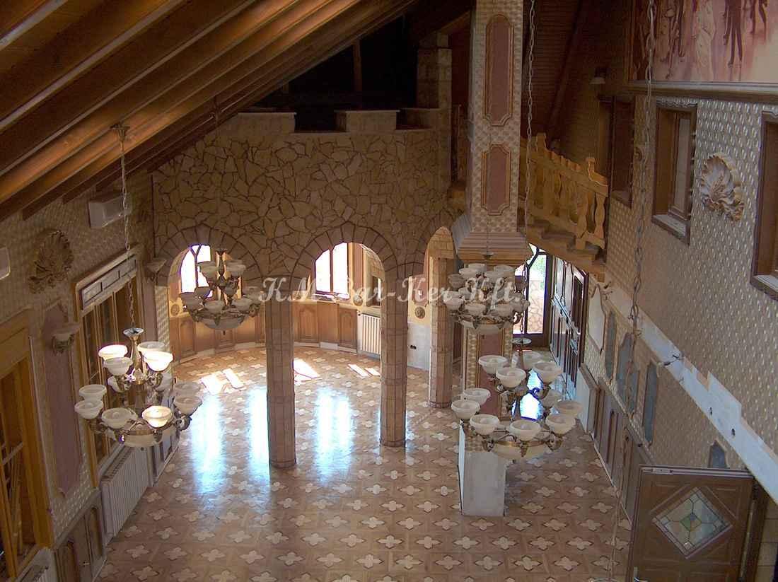 wood inlay floor 32, Vezér street palace
