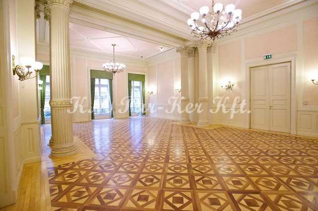 wood inlay floor 33, Ybl Palace
