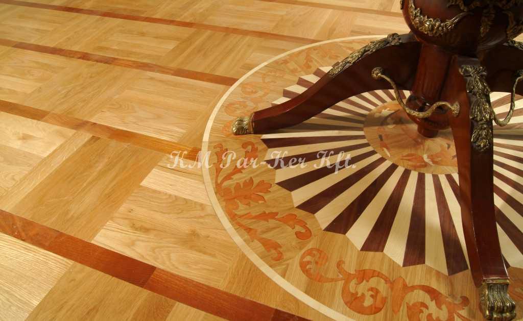 wood inlay floor, room 02, Fortuna -Budapest