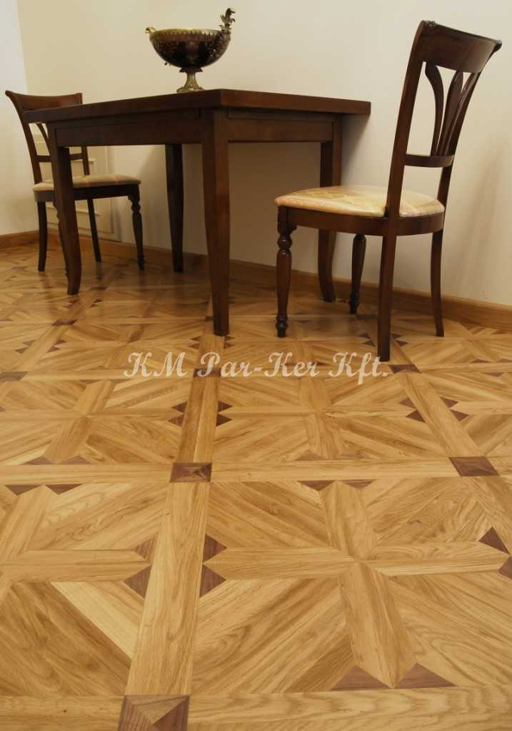 wood inlay floor, room 03, Fortuna -Budapest