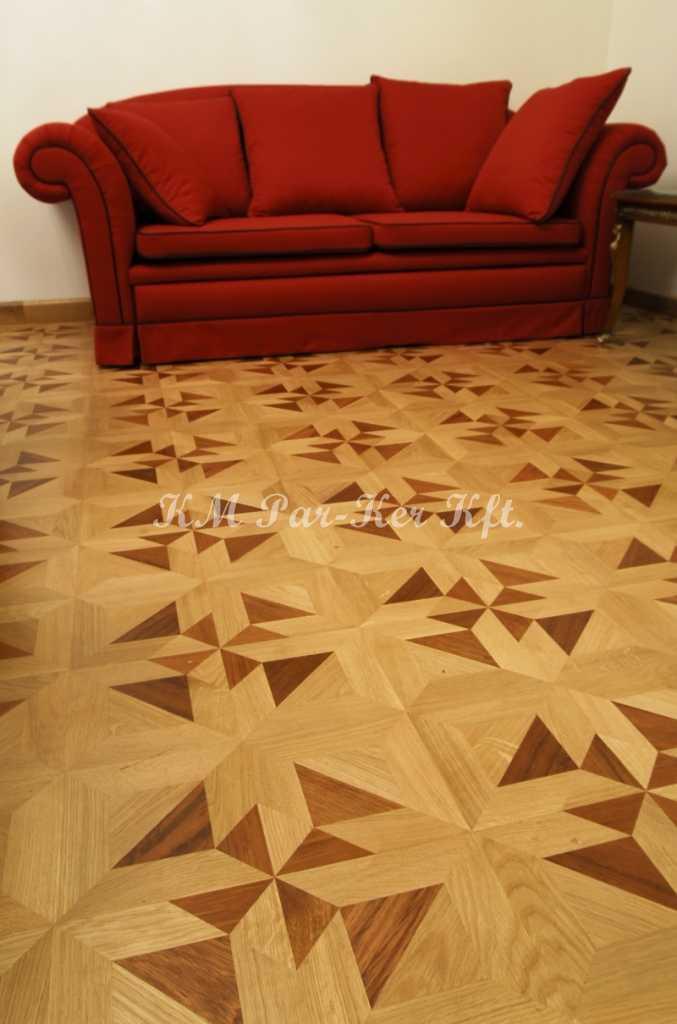 wood inlay floor, room 04, Fortuna -Budapest