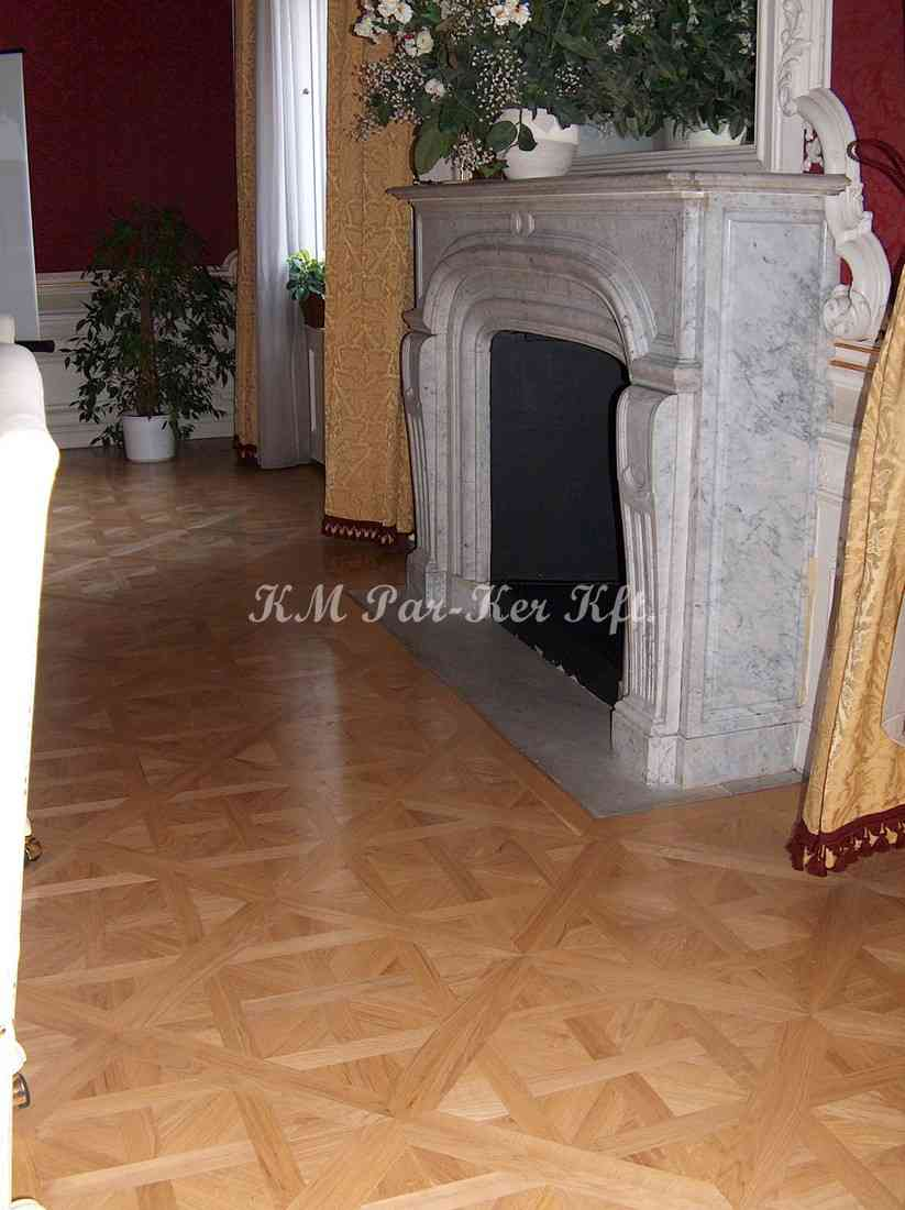 wood inlay floor, room 06, Israel Trade Center -Budapest