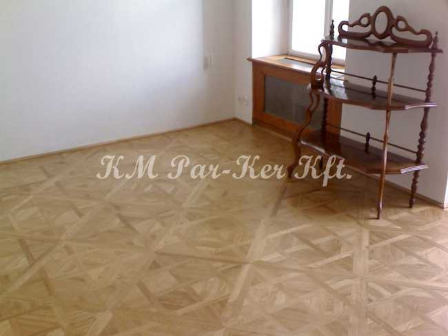 wood inlay floor, room 07, Office of Cultural Heritage