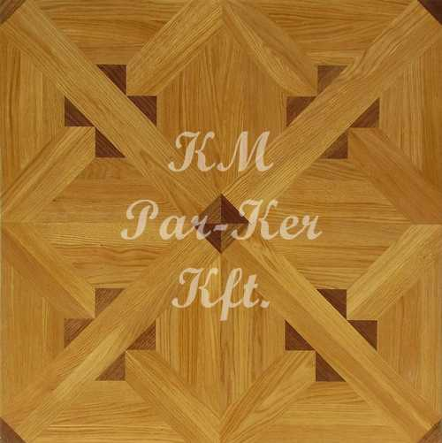 wood inlay floor, Diamond 1
