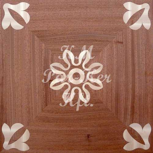 wood inlay floor, Irisz b