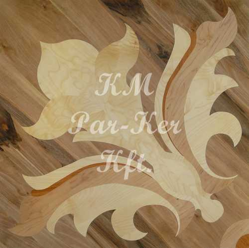 wood inlay floor, Minerva