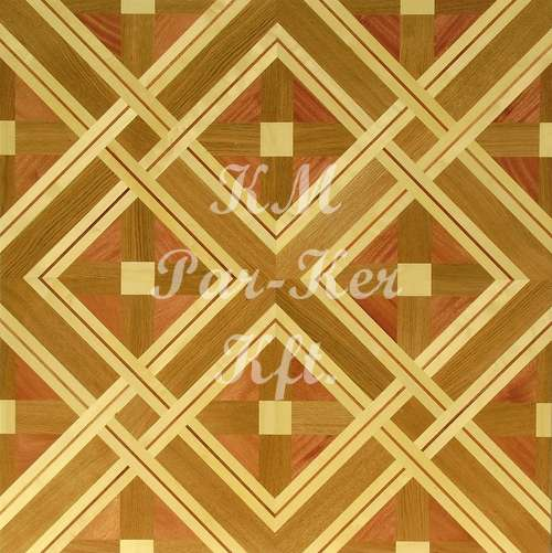 wood inlay floor, Ramona 1