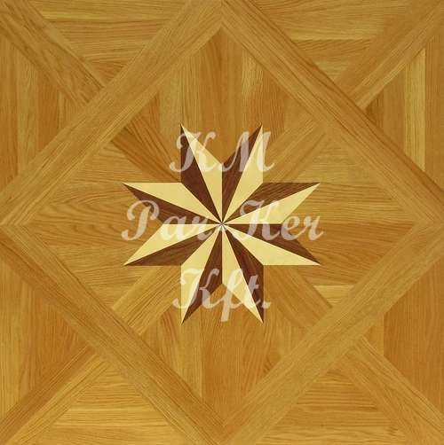 wood inlay floor, Star 1