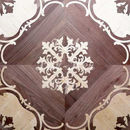wood inlay floor, Sonja 1