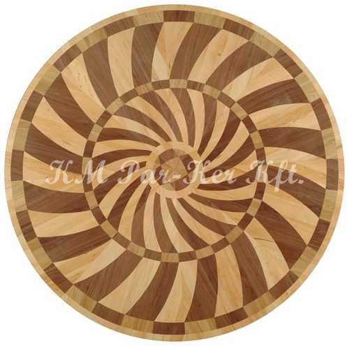 wood inlay floor medallion, Amilo 3