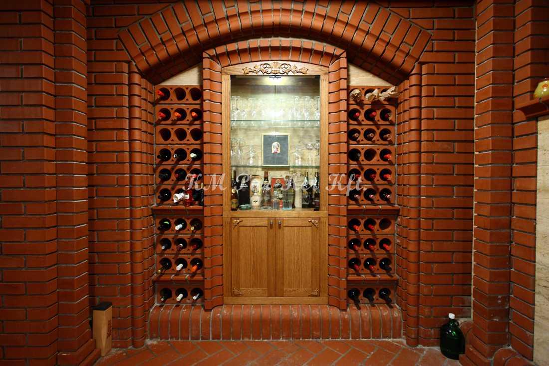 egyedi bútor 24, bortartó, boros pince
