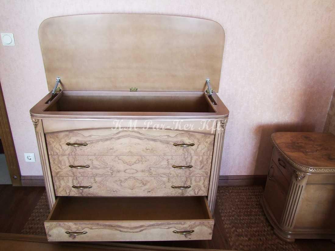 egyedi bútor 42, komód, ágynemütartó