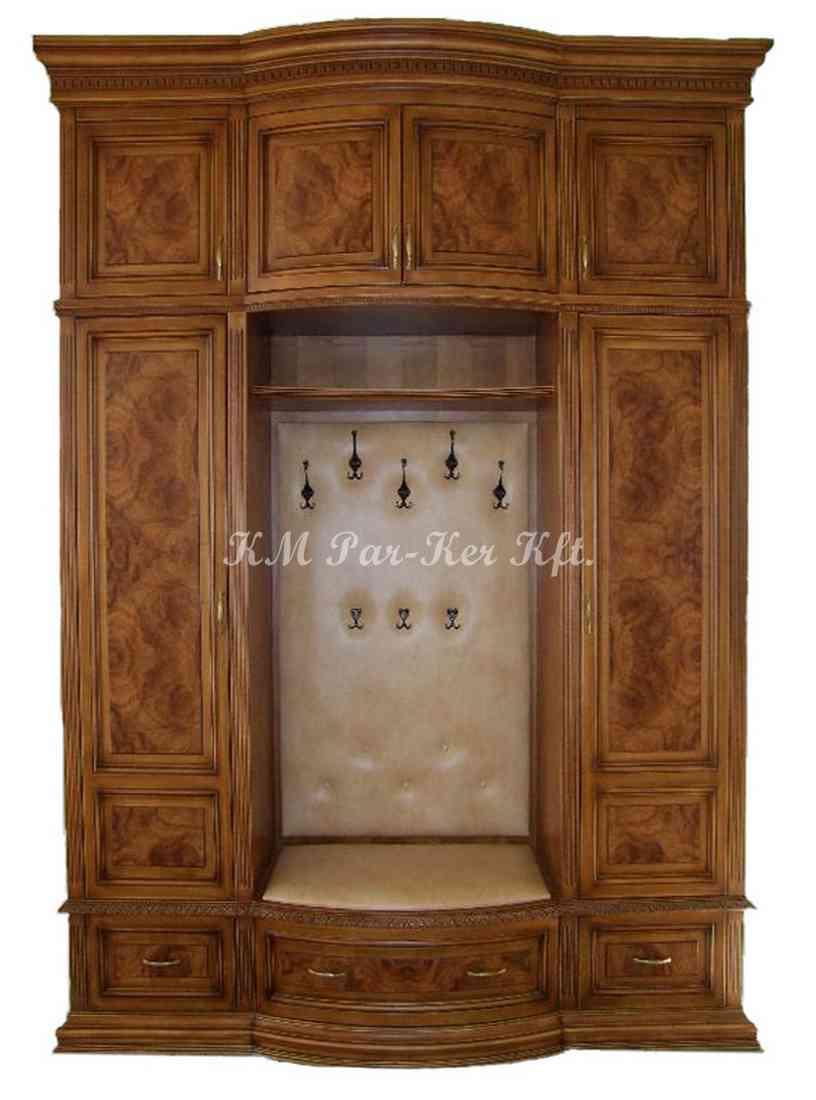 egyedi bútor 43, előszoba, beépített szekrény