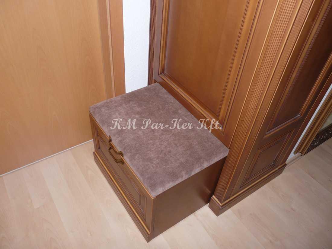 egyedi bútor 56, előszoba