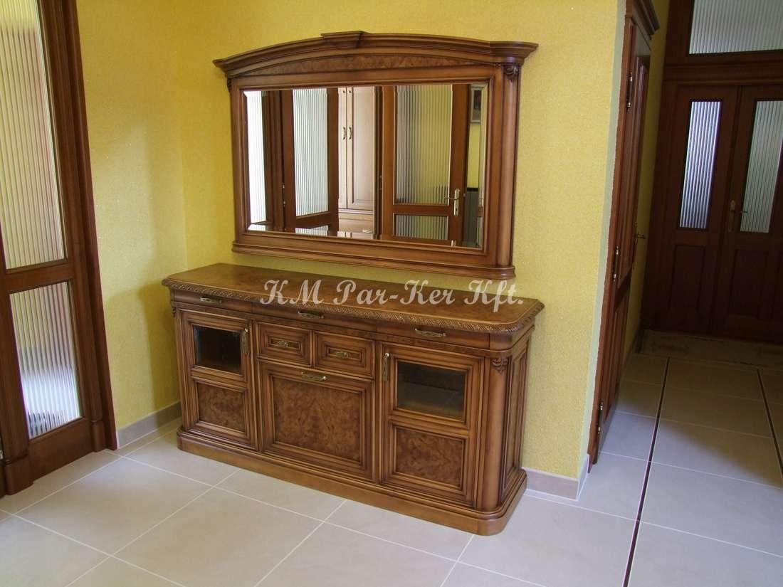 egyedi bútor 58, komód, tükör