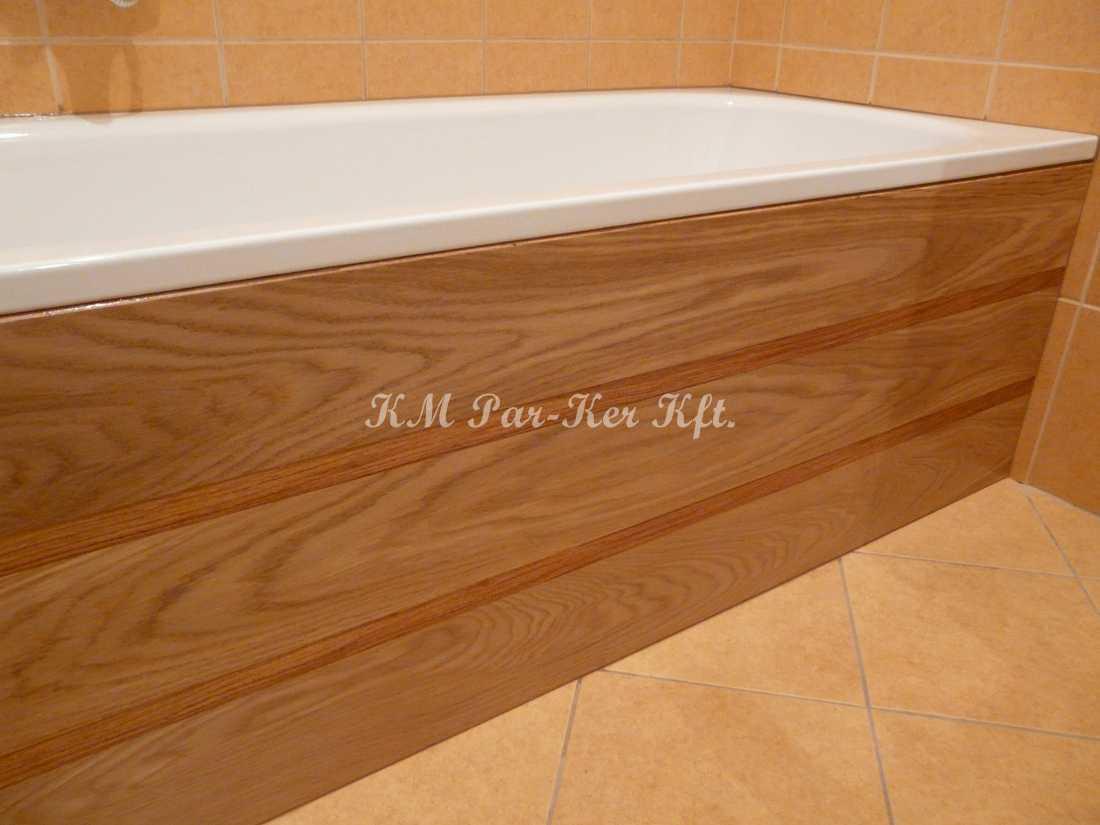 egyedi bútor készítés 35, fürdőkád fából