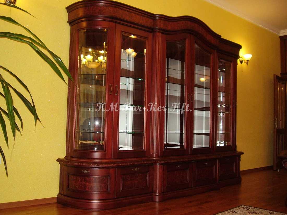 egyedi bútor készítés 47, nappali, vitrin