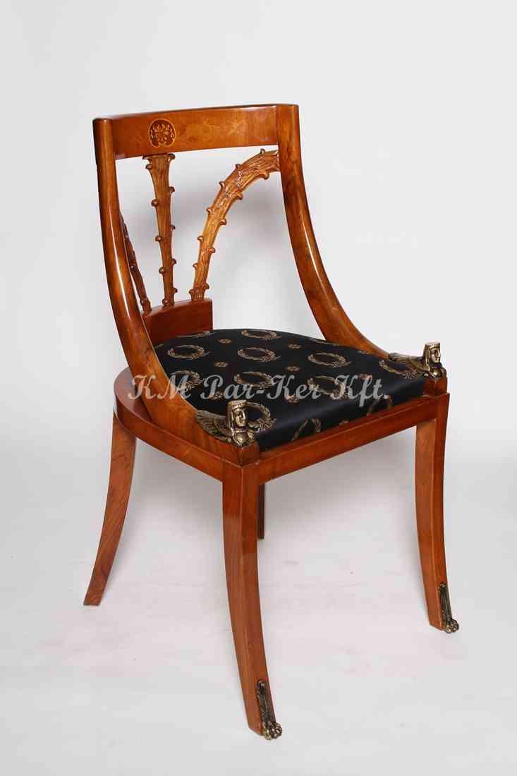 egyedi bútor készítés 81, intarziás szék