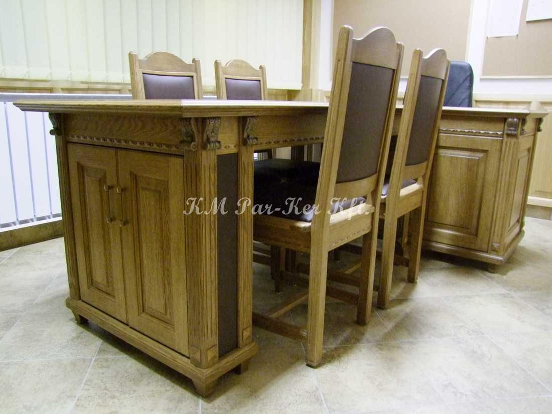 fabrication de meuble sur mesure 23, salle de réunion