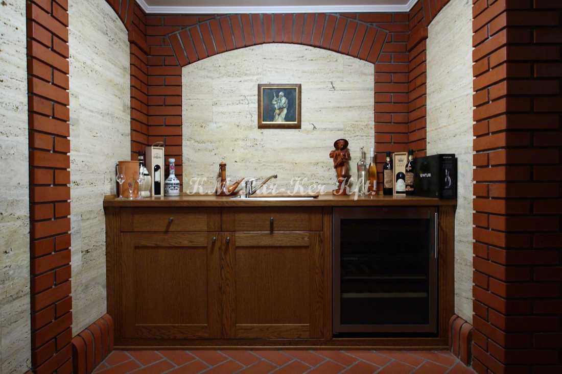 fabrication de meuble sur mesure 31, cave à vin