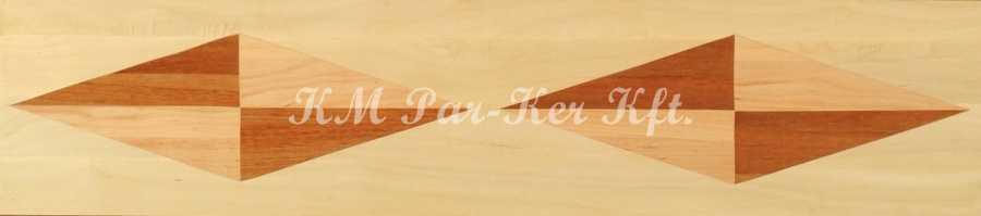 bordure de parquet en marqueterie, Directions 4