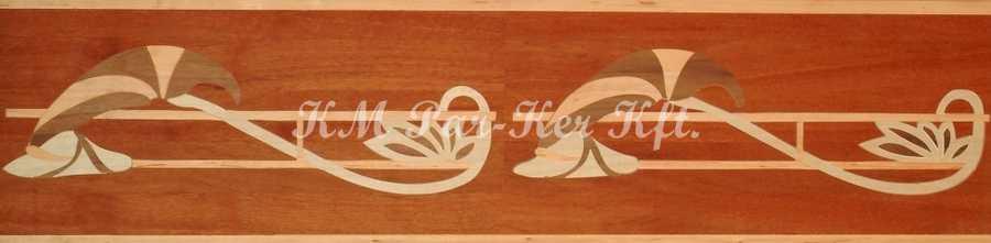 bordure de parquet en marqueterie, Klaudia 2
