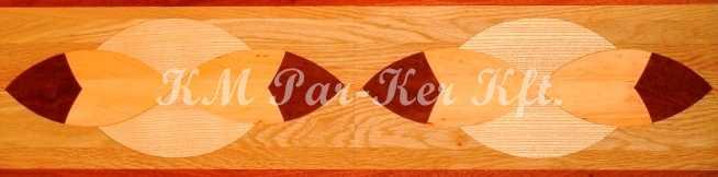 bordure de parquet en marqueterie, Laura 3
