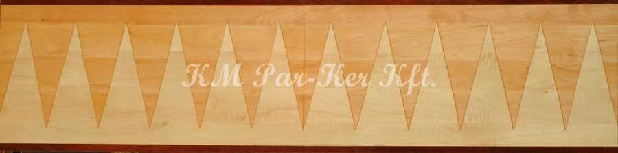 bordure de parquet en marqueterie, Piero 1