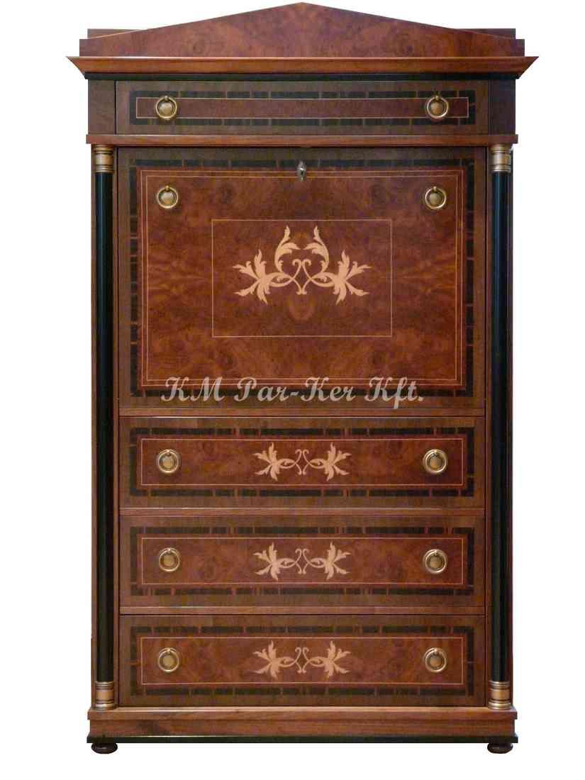meuble marqueterie 19, secrétaire