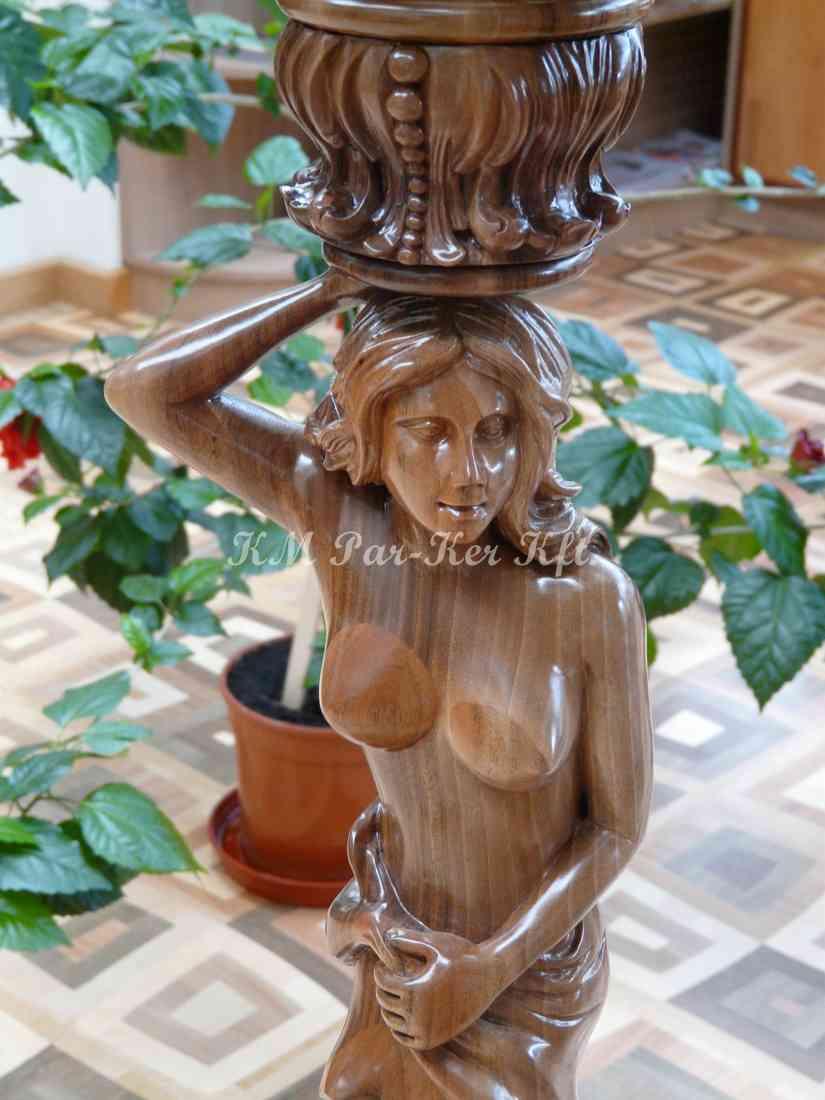 meuble sculpté 32, lampe de lecture sur pied