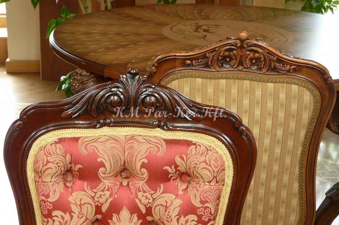 meuble sculpté 88, chaise salle à manger