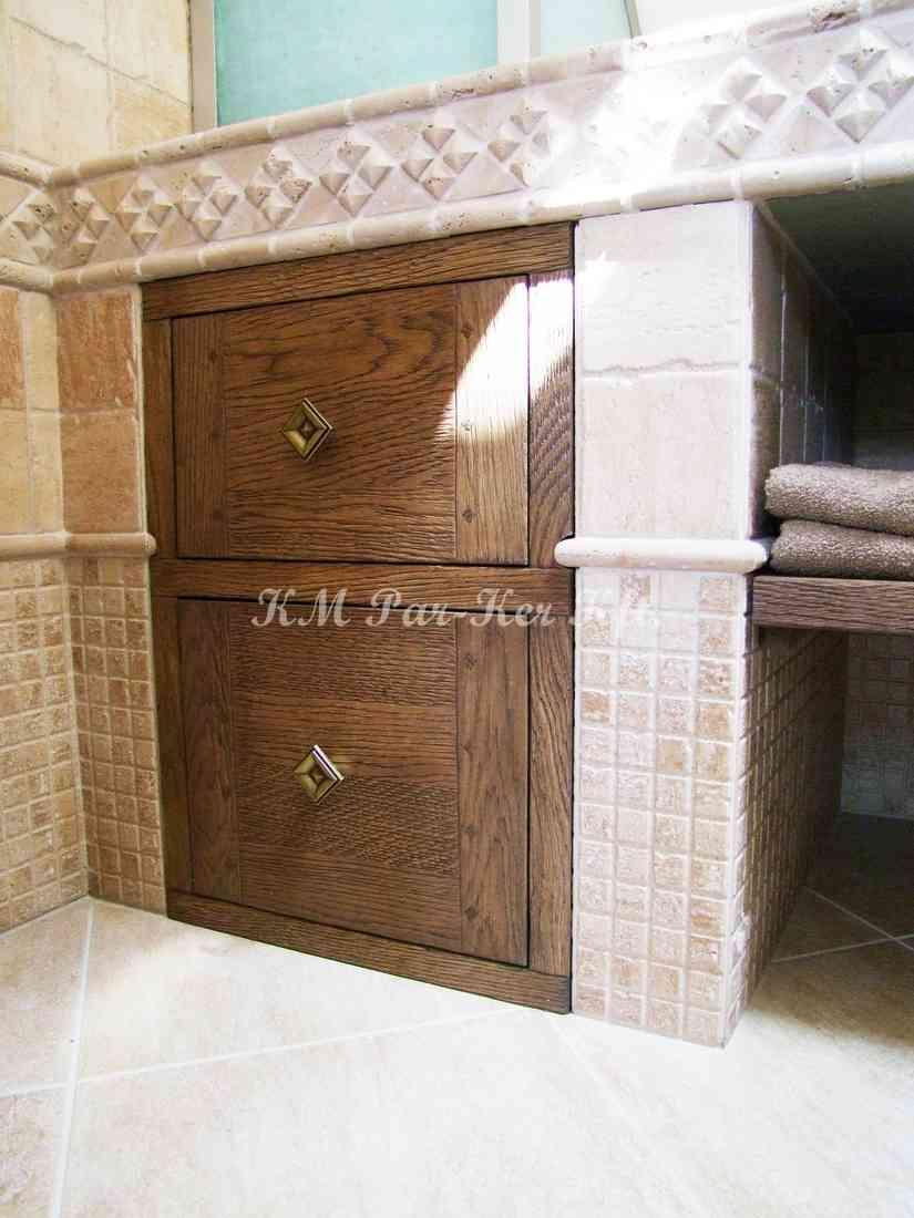 meuble sur mesure 35, meuble salle de bain