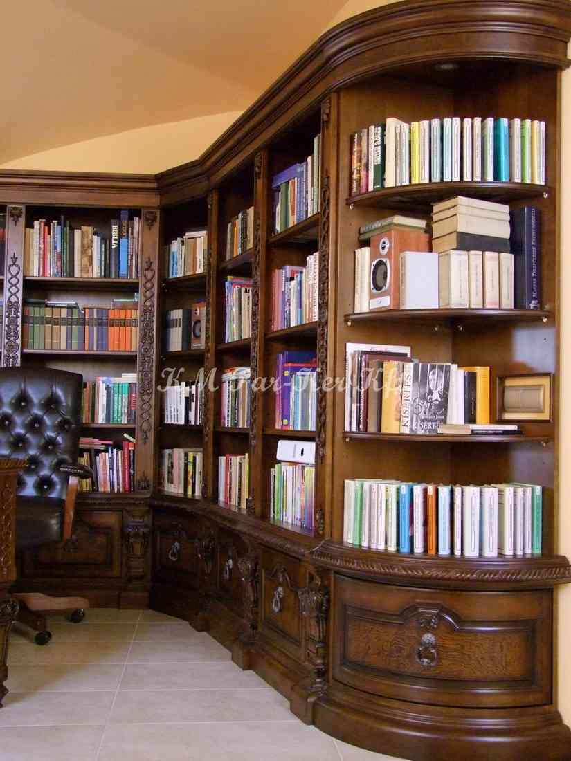 meuble sur mesure 36, armoire étagère de livres
