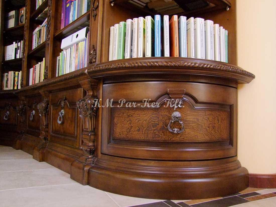 meuble sur mesure 37, armoire étagère de livres